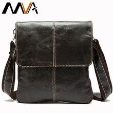 MVA мода Кожаная сумка мужчины сумка почтальона сумочки Повседневная плеча сумки человек сумки НОВЫЙ сумка мужская  мужские сумки мужская сумка натуральная кожа сумки через плечо Сумка мужская кожаная маленькая сумка