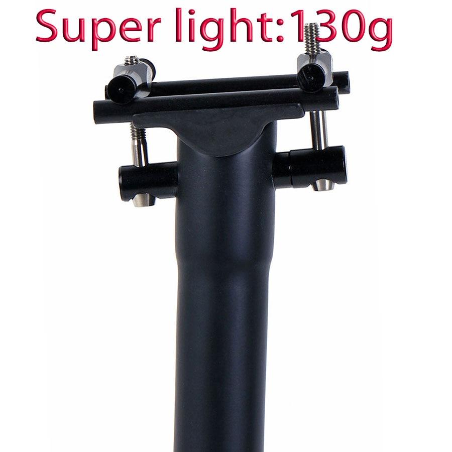 Carbon Fiber Seat Post Bike Seatpost Road/Mtb Bicycle Seatposts 135g UD Matte Titanium screws 27.2 30.8 31.6mm*300 350 400mm wanyifa 3k ud matte bicycle seatpost