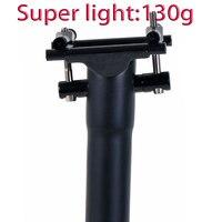 Carbon Fiber Seat Post Bike Seatpost Road/Mtb Bicycle Seatposts 135g UD Matte Titanium screws 27.2 30.8 31.6mm*300 350 400mm