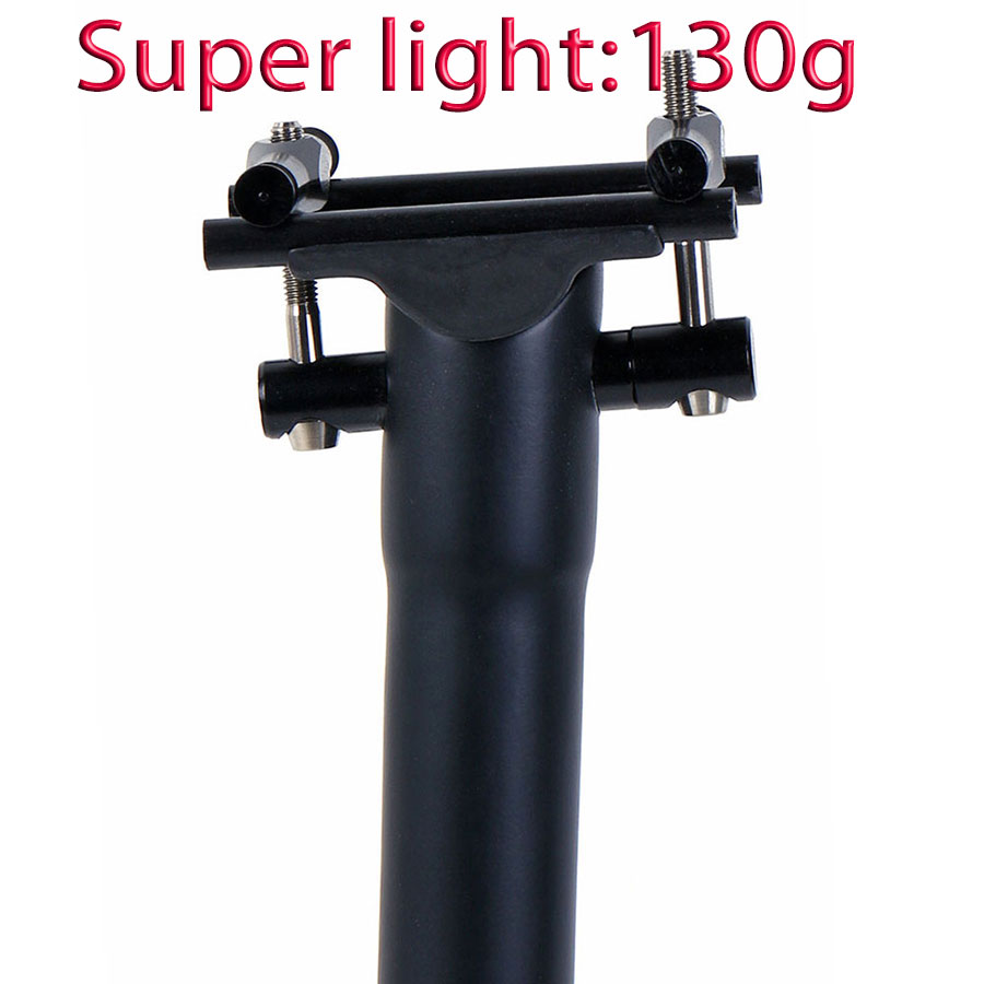 Raleigh Bikes Seatpost Micro Adjustable Seat Post 400mm Black 25.4mm