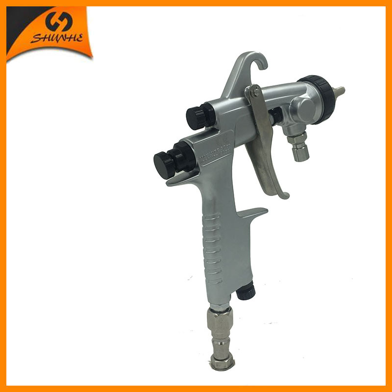 цена на SAT0001AB base coating spray gun high pressure mirror chrome spray paint compressed air gun
