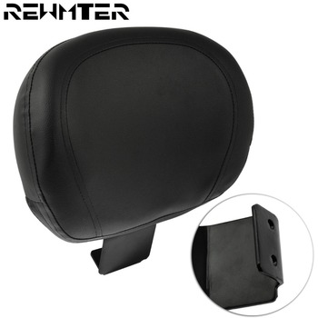Motorcycle Accessories Driver Rear Backrest Sissy Bar Cushion Pad Black Seat Motorbike Seat Cushions For Suzuki VL800 C50
