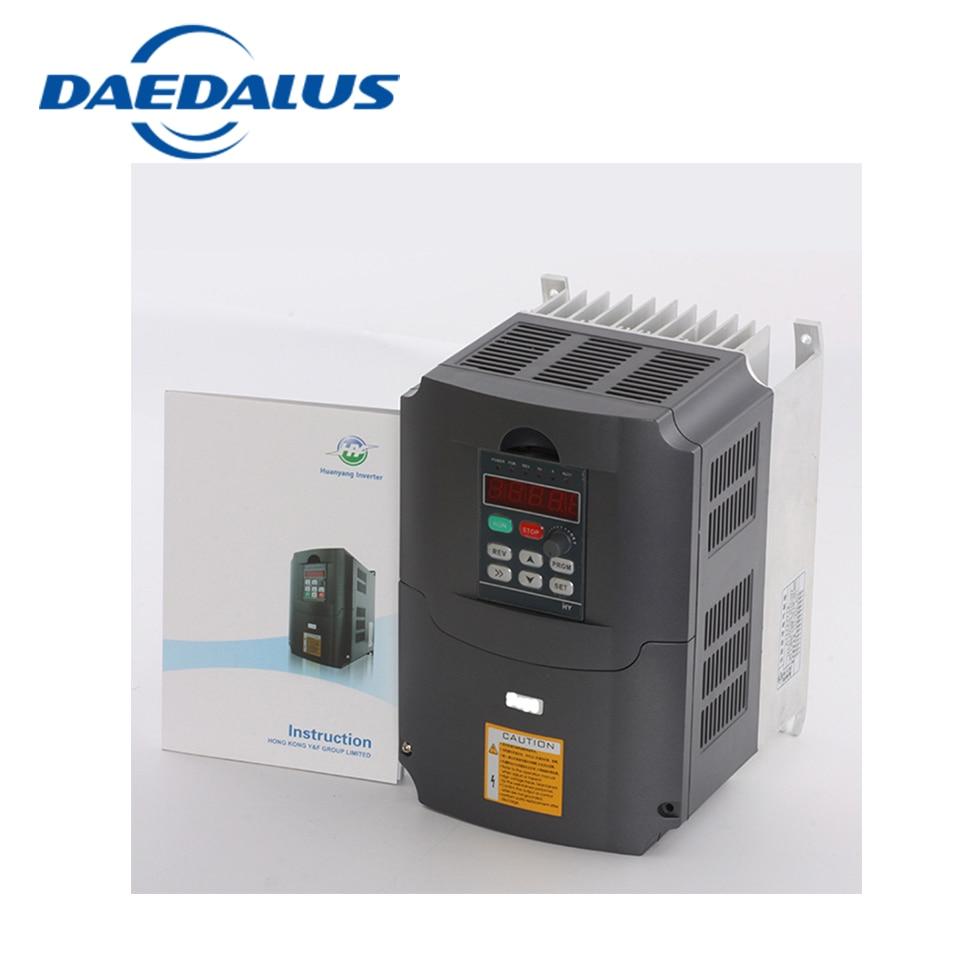 a frequency converter 2.2kw VFD Inverter Input Voltage 380v 3HP Input 3HP frequency inverter new inverter operation panel a740 f740 fr du07 converter input apparatus