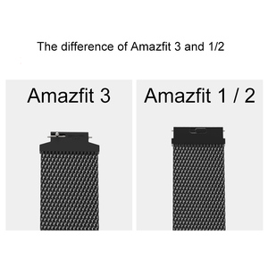 Image 5 - Wrist Strap Smart Watches band for Amazfit Verge Huami 3 Xiaomi Mi Verge lite fitness bracelet Quick Release Accessories SIKAI