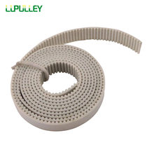 Lupulley MXL Terbuka Timing Belt 5 Meter Panjang MXL-6 Mm/10 Mm Lebar PU Putih Sinkron Dibuka timing Belt CNC Stepper Motor(China)