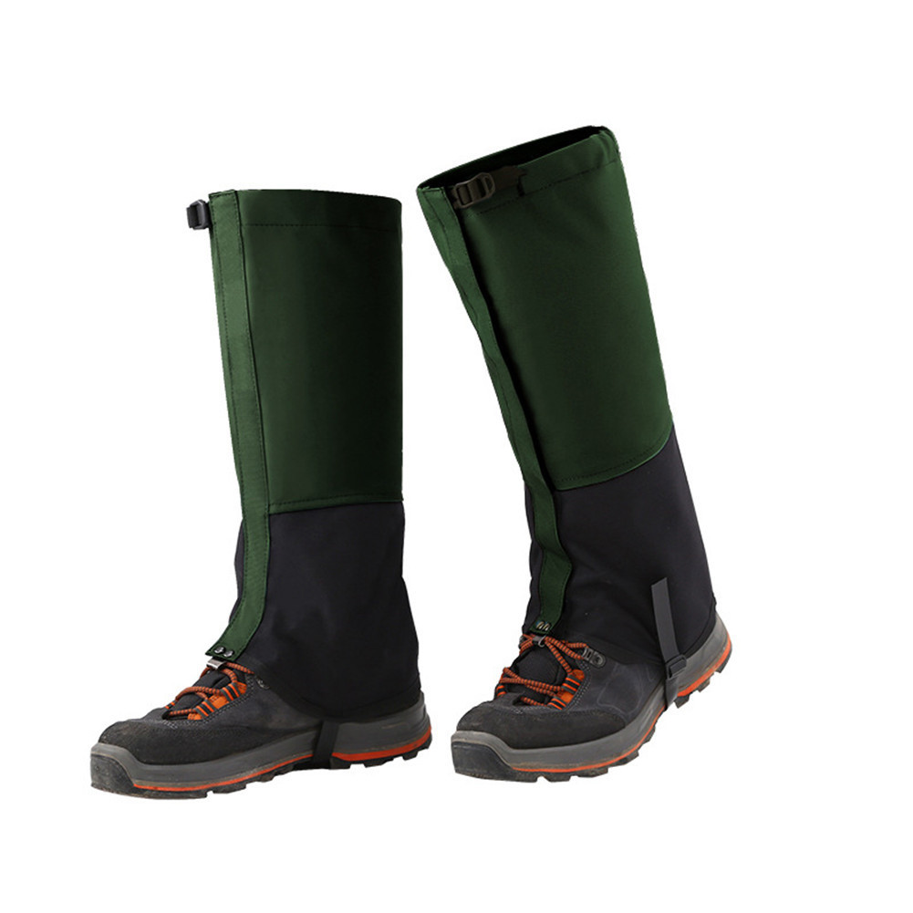 2018 Waterproof Snow Covers Winter Outdoor Skiing Gaiters Boots Shoes Leg Covers Men Womens Leg Warmers M-XL