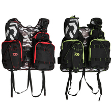 Outdoor Multifunctional Fishing Vest Life Jacket Fishing Clothes Pesca 120KG Portable Breathable Flotation Vest