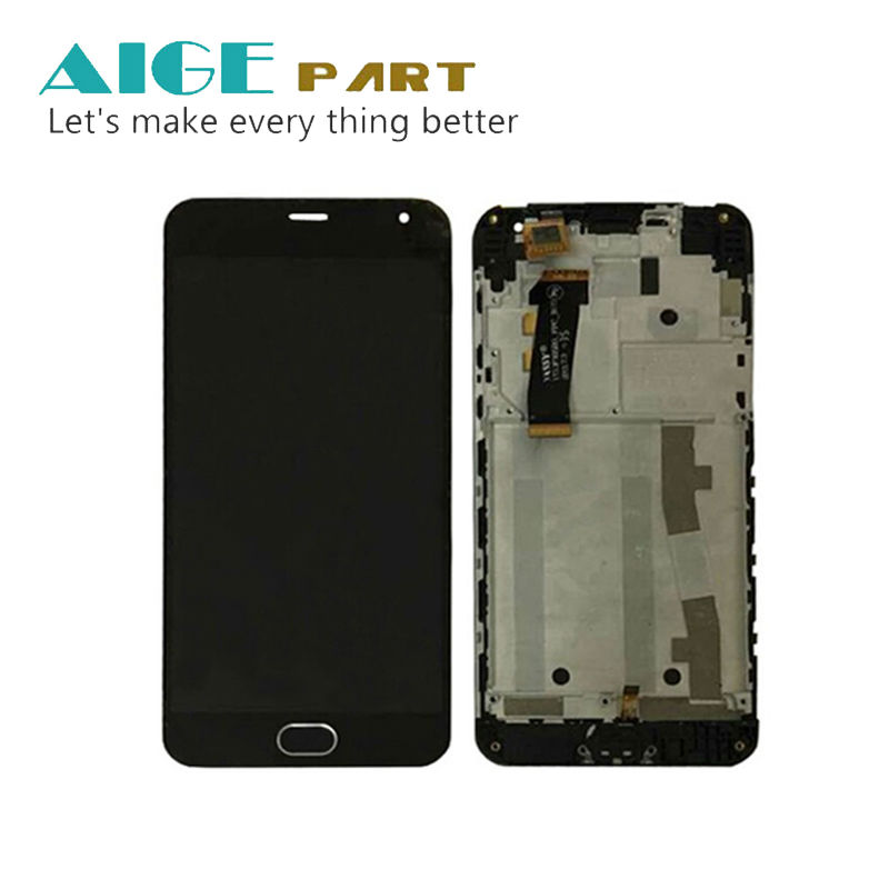Подробнее о New Meizu Touch Screen Digitizer + LCD Display For Meizu M2 mini 5.0 inch Cell Phone Black Color Free Shipping With Frame for meizu m2 mini lcd touch screen digitizer display 5 0 cellphone black color free shipping digitizer assembly replacement