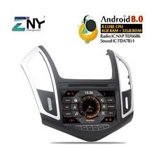 """8 """"IPS Android 9.0 DVD Dell'automobile Per Cruze 2013 2014 2015 Auto Radio FM Stereo per PC di Navigazione GPS Audio video Sistema di Trasporto della Macchina Fotografica di Backup"""