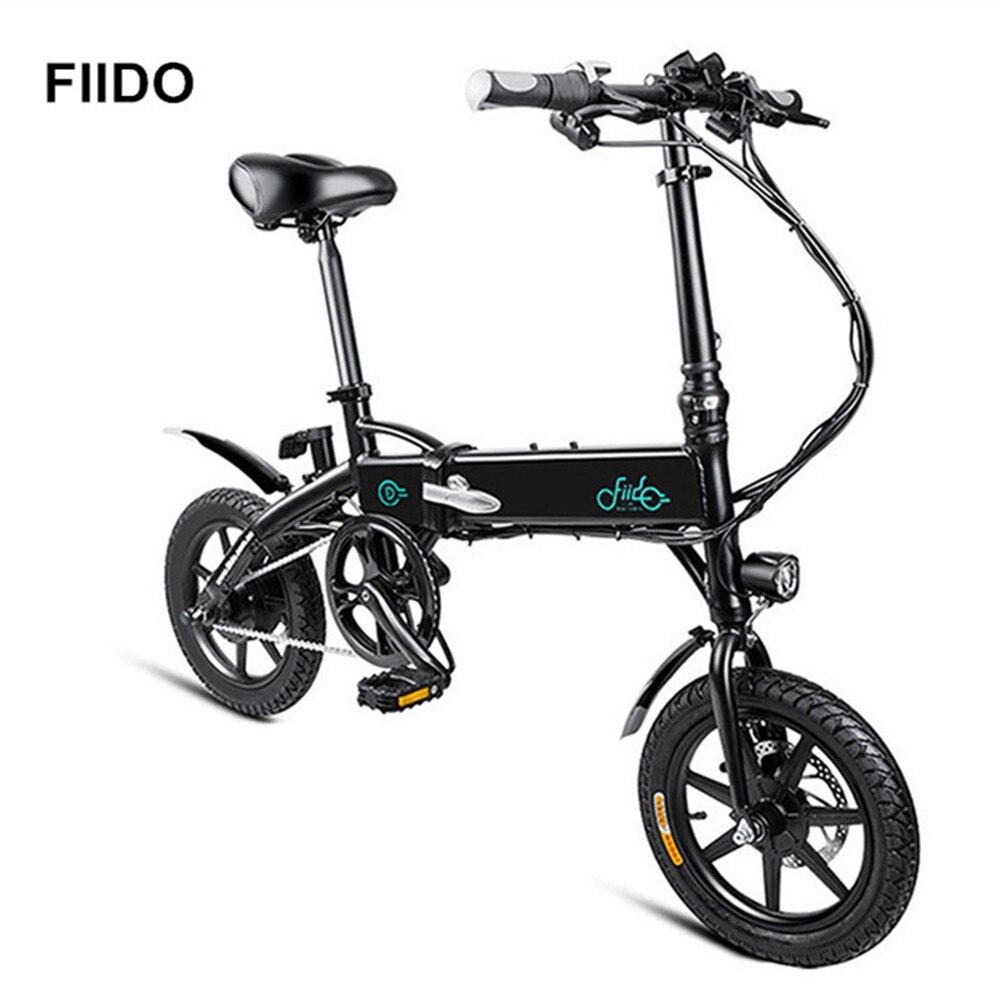 FIIDO D1 7.8Ah/10.4Ah 250 W Mini vélo électrique pliant intelligent vélo en alliage d'aluminium cyclomoteur vélo électrique EU Plug livraison gratuite