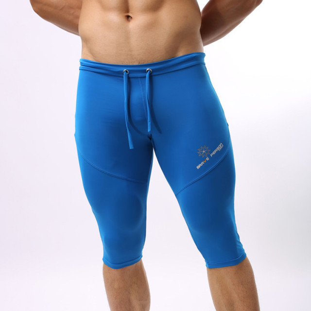 Brave Person 2018 Hot Sale New Genuine Apparel Men Compression Runing Tights Fitness Men's Pants