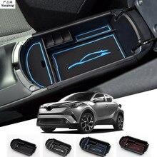 Carmilla Adatto Per Toyota C-HR CHR 2016 2017 2018 Box Auto Bracciolo Centrale scatola di immagazzinaggio Accessori Interni Stivaggio Riordino