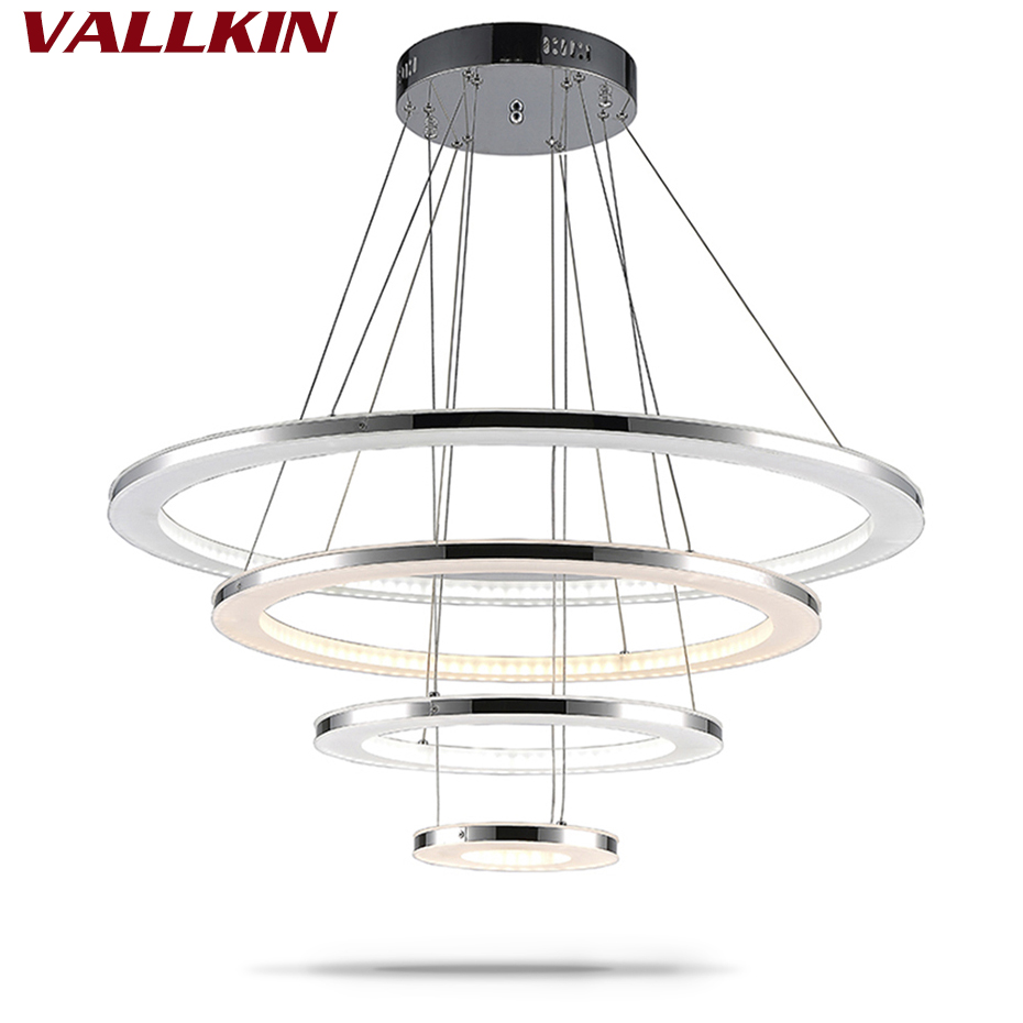 Luxury acrylic chandeliers for dining room led chandelier for Diy led chandelier