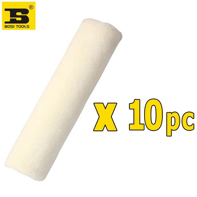 Free Shipping BOSI 9''/230mm 10PC wool paint roller roller brush