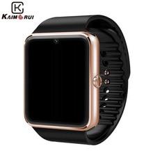 Gft GT08A носимых устройств Bluetooth смарт часы с SIM карт памяти и NFC сотовый телефон с сенсорным экраном и водонепроницаемый мужчины наручные часы