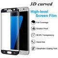 Для s7edge s7 Край Закаленное Стекло 3D Изогнутые Полное Покрытие Протектор экрана Для Samsung Galaxy s7edge S6 edge S6edge плюс ясно