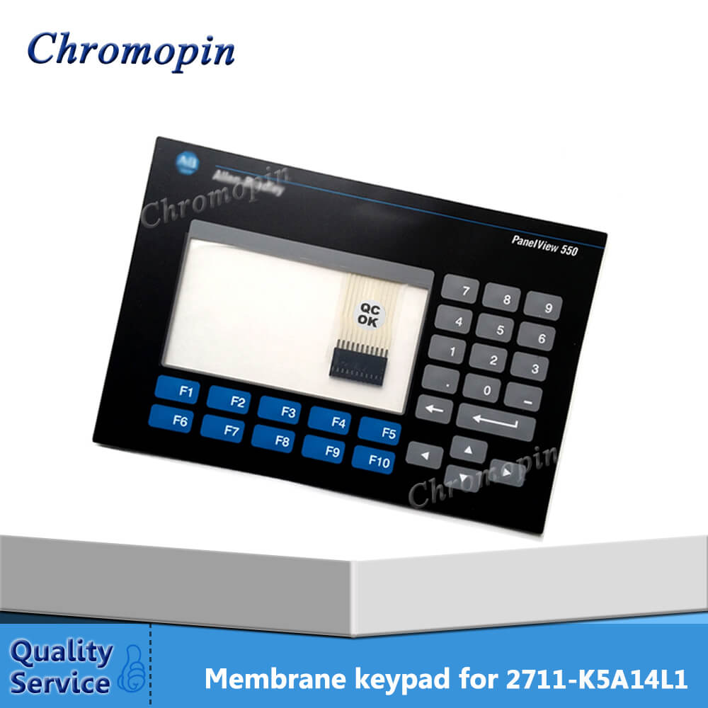 Membrane keypad switch for AB 2711-K5A14L1 2711-K5A12L1 2711-B5A14L1 2711-B5A12L1 PanelView Standard 550 Monochrome keyboard 2711 tc4 2711tc4 series membrane keypad for allen bradley panelview 1200 micro series fast shipping