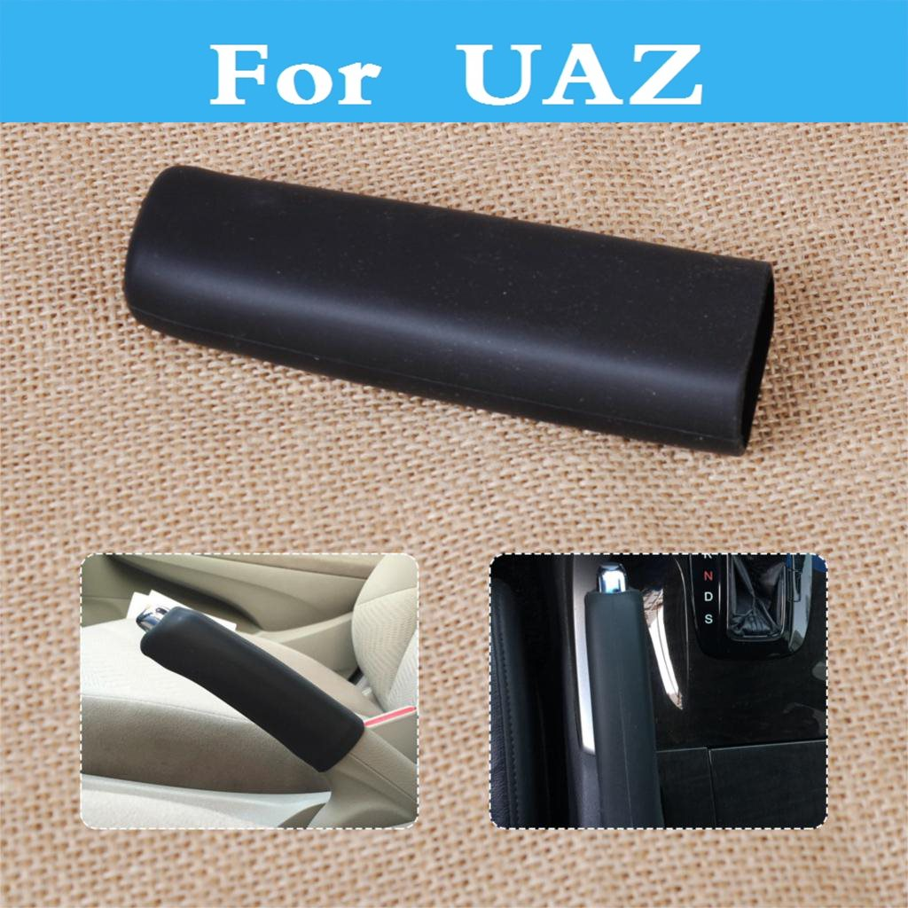 Car Auto Handbrake Hand Brake Case Black Cover Sleeve Decorative Cover For Uaz Patriot 31512 3153 3159 3162 Simbir 469 Hunter