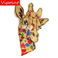embroidery sequins dear patches for jackets,dear badges jeans,appliques backpack A283