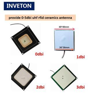 4 set passive short read range 0-3dbi small ceramics uhf rfid antenna handheld desktop rfid reader uhf Android embedded system