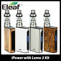Original 80W Eleaf iPower Kit 5000mah with Lemo 3 Atomizer 4ml New Clapton Coil Electronic Cigarette vs iPower TC Box MOD 80W