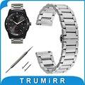 Quick Release Ремешок для LG G Watch W100 R W110 Вежливый Asus Zenwatch 1 2 22 W150 мм Стальной браслет Butterfly Пряжки браслет