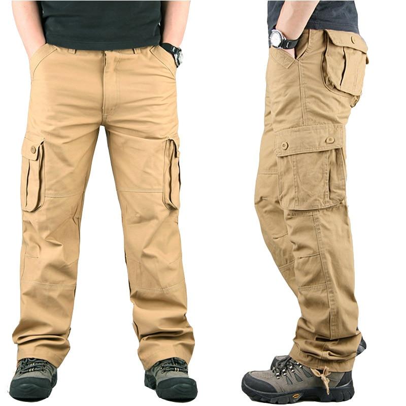 Pantalones Cargo De Primavera 2020 Pantalones Militares De Talla Grande Para Hombre Pantalones Casuales De Moda Pantalones Tacticos Pantalones Cargo Para Hombre Pantalones Tipo Cargo Aliexpress