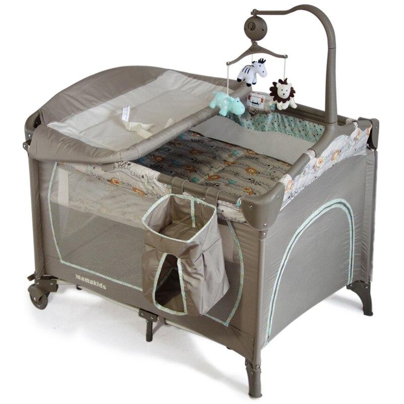 do bebê da cama do jogo da