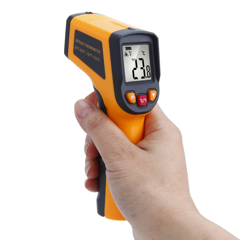RICHMETERS 600 C Digital laser Infrared Thermometer Temperat
