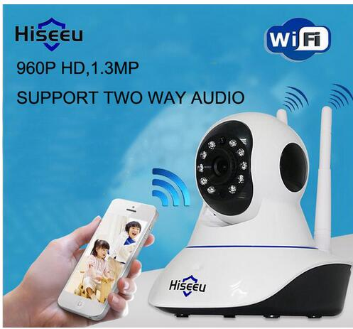 FH1B 960P Wireless IP Camera Wifi Night Vision Camera IP Network Camera with alarm CCTV WI-FI P2P 1.3MP Onvif Camera Hiseeu hiseeu hd 720p wireless ip camera wifi night vision wi fi camera high quality ip network camera cctv wifi p2p security camera