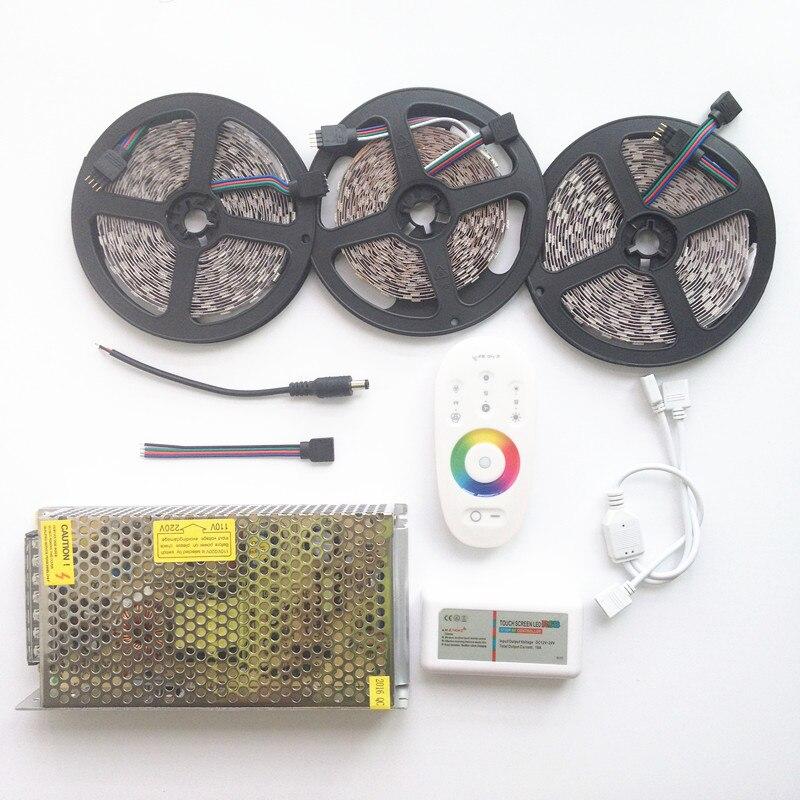 20м СИД 5050 RGB Су өткізбейтін таспа 5м 10м - LED Жарықтандыру - фото 3