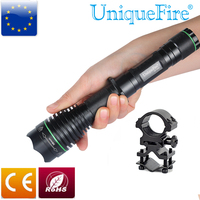 UniqueFire 1508 940nm Infrared LED Flashlight Torch 38mm Lens Lamp Night Vision Zoom with 1''Scope Ring Mount For Hunting