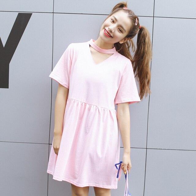 b87c9caa76dc cheap clothes china harajuku women dresses korean new kawaii cute ...