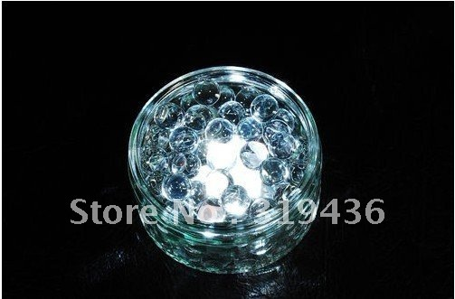 fashinal centrepiece using lamp submersible tea light with glow crystal water gel beads pearl for coffee/ bar / party decoration