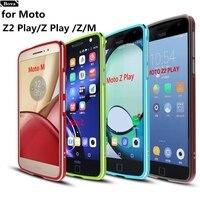 Case For Motorola Moto Z2 Play Luxury Deluxe Ultra Thin Aluminum Bumper For Motorola Moto Z