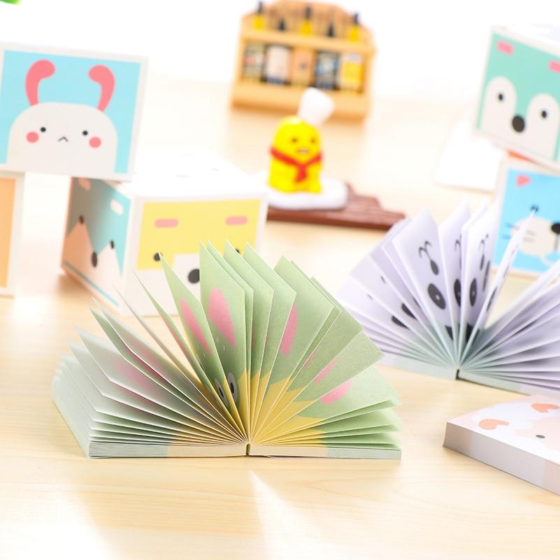 Kawaii Paper Sticky Memo Pad Leuke notitieblok Post Note Bookmark - Notitieblokken en schrijfblokken bedrukken - Foto 3