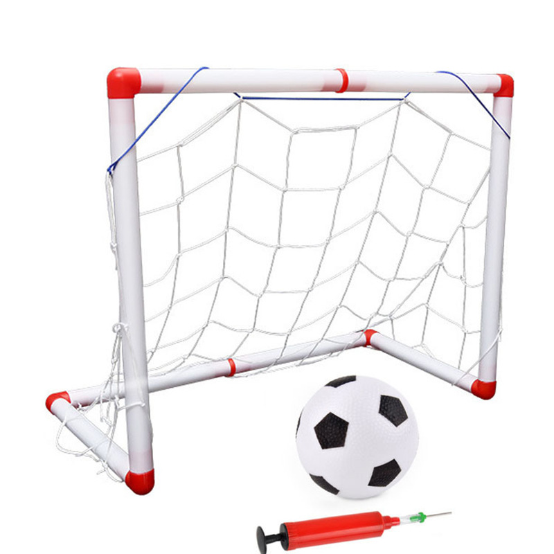 56 Cm Small Indoor And Outdoor Soccer Football Goal  With  Ball Pump Children Sports Toys Baby Goat Kids Toys Is Suing