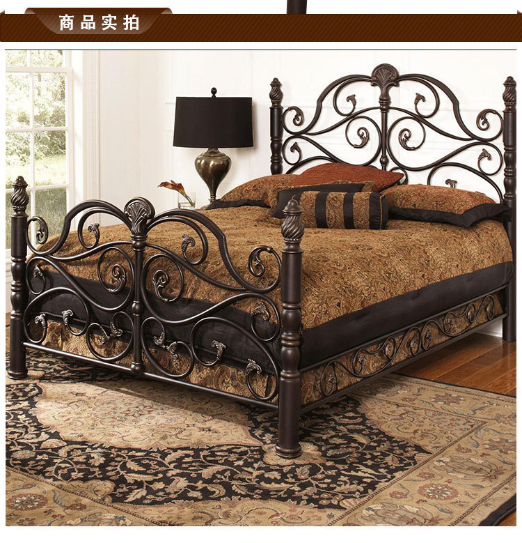 wrought iron bed princess bed linens person double beds c retro metal frame bed 15 18 min beds from furniture on alibaba group