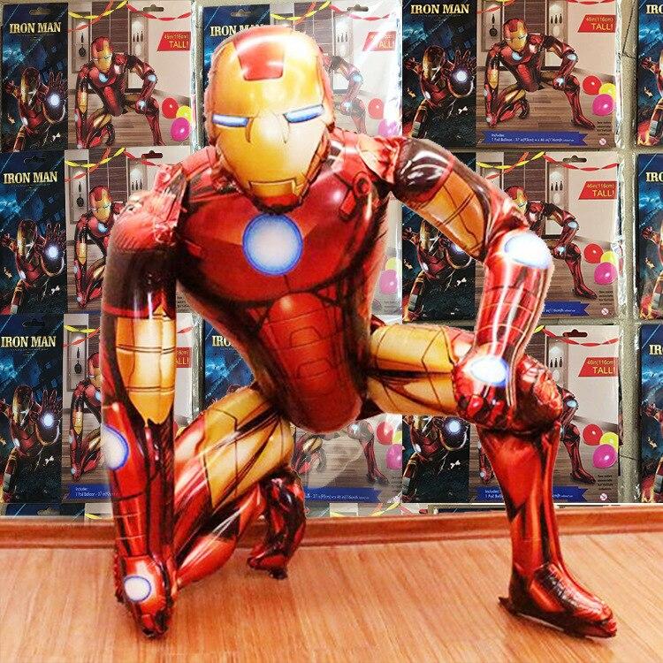 Jumbo Giant  Iron Man Foil Balloons Helium Balloon Air Balloon Happy Birthday Ba