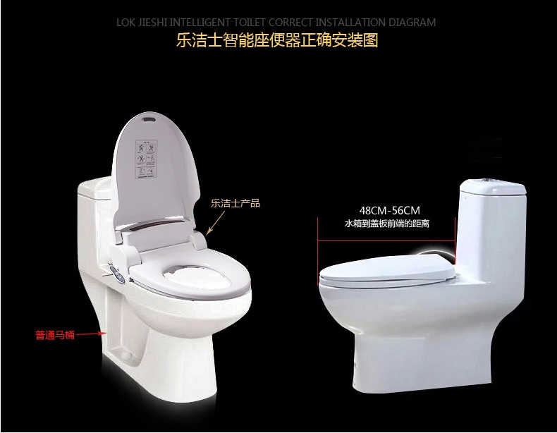 Excellent Smart Heated Toilet Seat Hinge Wc Sitz Intelligent Automatic Toilet Lid Cover Multifunal Washlet Elongated Electric Bidet Cover Gmtry Best Dining Table And Chair Ideas Images Gmtryco