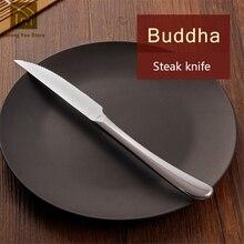 Restaurant Edelstahl Steak Messer Canivetes Talheres Western Tools Europäischen Stil Küche Abendessen Tisch Messer Besteck JKF147