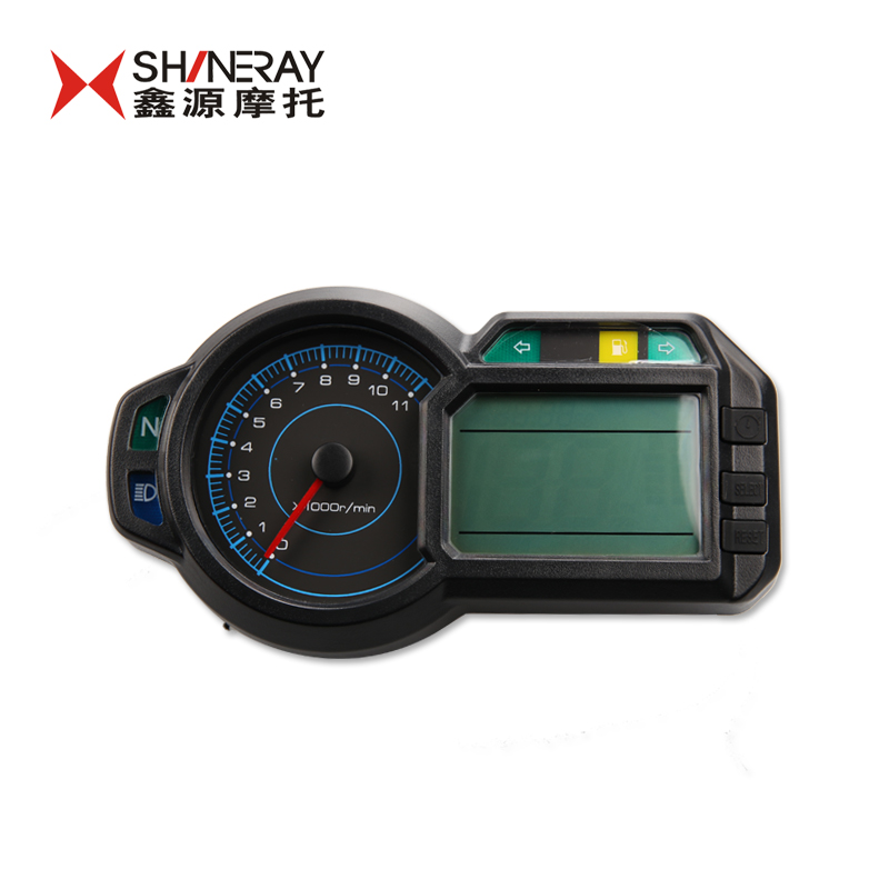shineray xy400gy 400cc Xinyuan x5 original instrument lcd speedometer led motor speed xy400gy