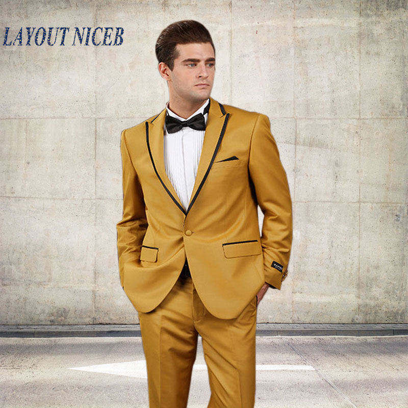 Online Get Cheap Men Prom Suits Gold -Aliexpress.com   Alibaba Group
