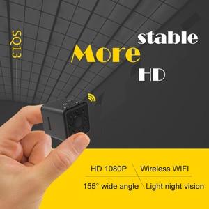 Image 5 - FANGTUOSI SQ13 WIFI small mini Camera cam HD 1080P video Sensor Night Vision Micro Camcorder DVR Motion Recorder Camcorder SQ 13