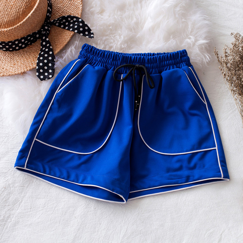 Women Harem Short short Feminino Sweatshorts Drawstring High Elastic Waist Short Sweatpants Plus Size 3XL Red Blue White Black