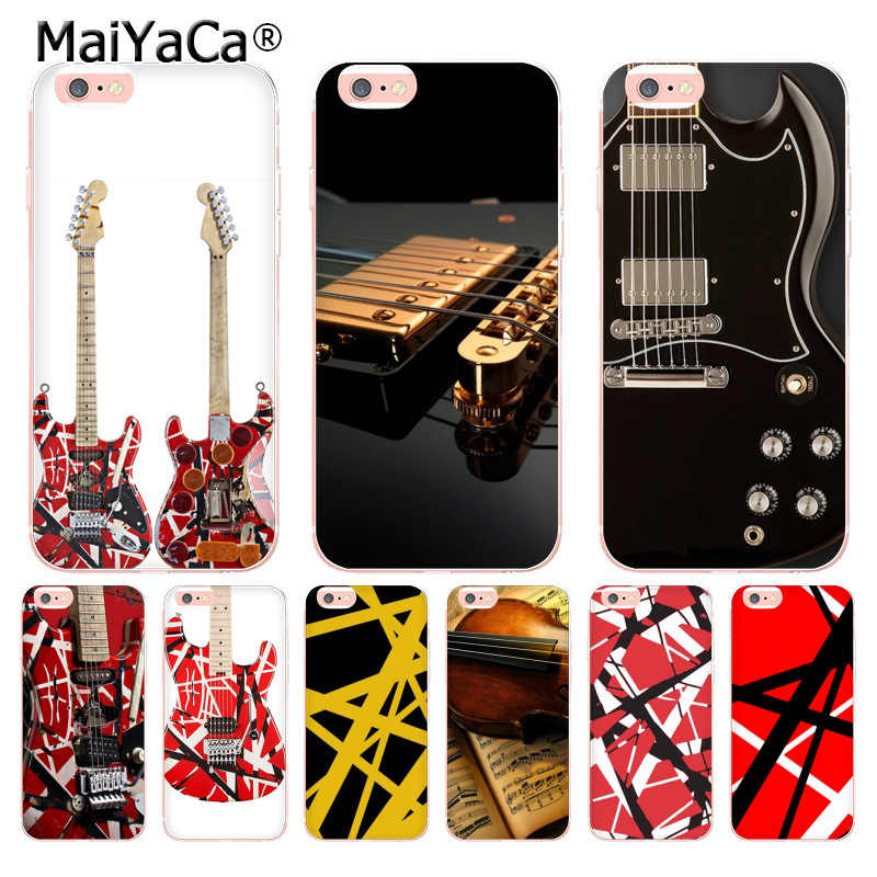 Maiyaca Eddie Van Halen Graphic Guitar Soft Tpu Phone Case Cover For Iphone 8 7 6 6s Plus X 5 5s Se 11pro Max Case Case Cover Phone Cases4s Case Aliexpress