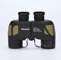 Professional Brand 10X50 Rangefinder Nautical Waterproof Military Floating Binoculars Navigation Telescope Built In Rangefinder