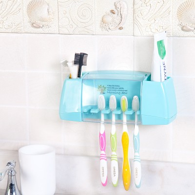Creative strong adhesive toothpaste toothbrush holder 22*7*8.5cm free shipping