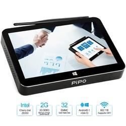 Pipo X11 мини-ПК Intel Cherry Trail Z8350 2 GB/32 GB двойной ОС Android Windows 10 Смарт ТВ-приемник с WiFi LAN HD медиаплеер Декодер каналов кабельного телевидения