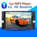 2 Автомобиля Гама Multimedia Player Bluetooth AUX Стерео Радио FM MP3 MP5 Аудио Видео USB Зарядное Устройство Электроника авторадио рулевое колеса